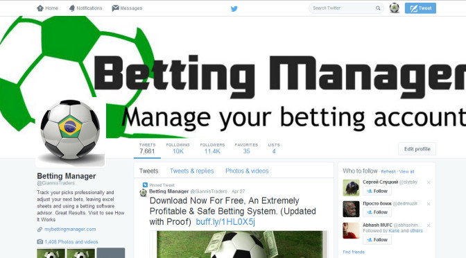 Promote any bet or sports product to my 14k Uk Usa related twitter followers
