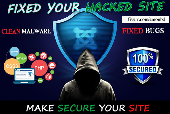 Fix your hacked joomla site clean malware