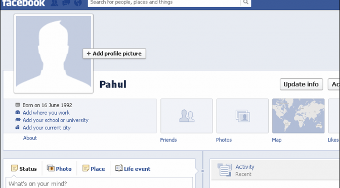 Change your facebook profile name to a single name