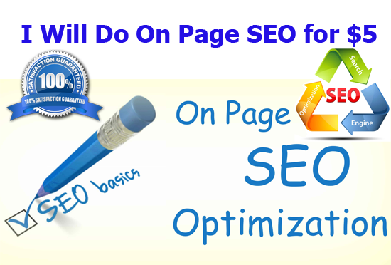 Do On Page SEO for Your Website