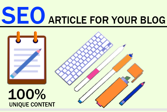 Write SEO Article For Your Blog