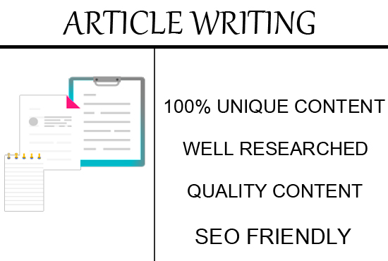 Do ARTICLE Writing For You