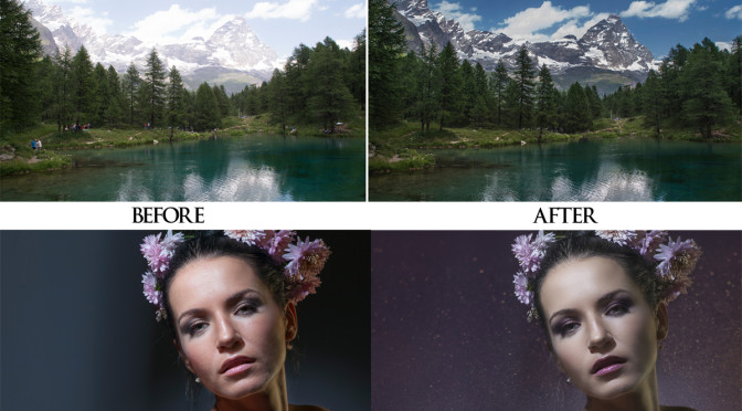 Edit your photos with Photoshop and Lightroom