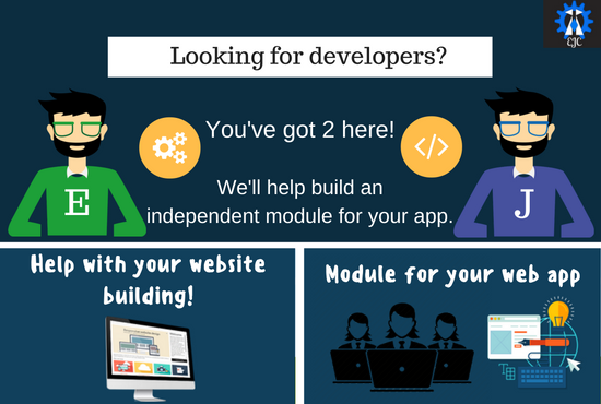 Build an independent functionality for you web app!