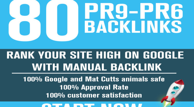 Create HighPR Backlinks for you