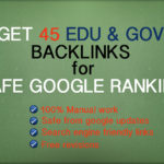 SEO gov edu backlinks google