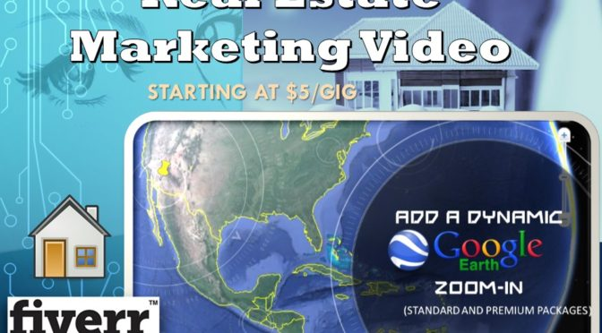 Real Estate Marketing Video w/ Google Earth Zoom In