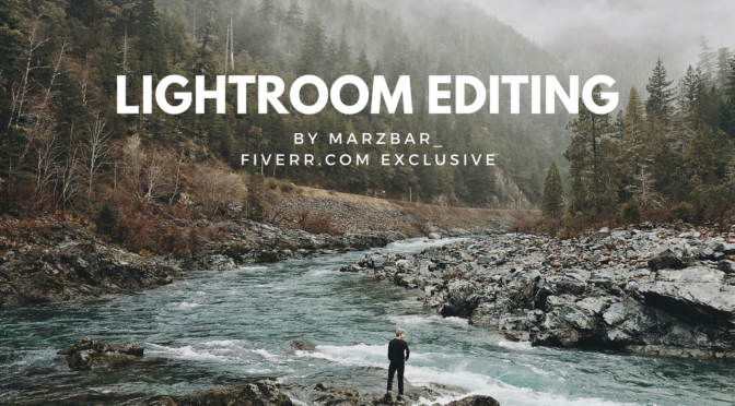 Do World Class Editing On Your Photos In 24h On Lightroom