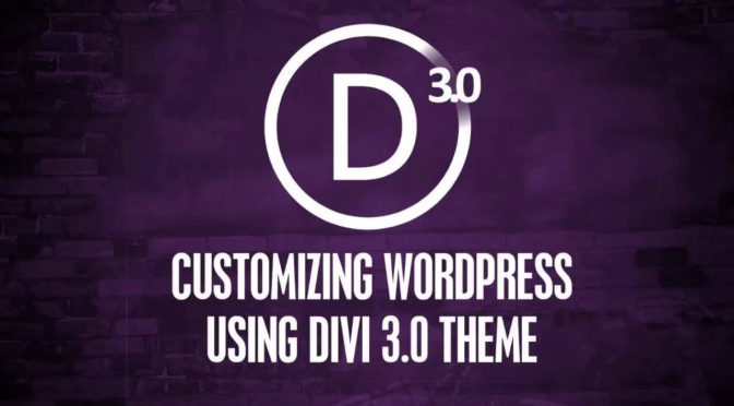 Create WordPress Divi Theme Responsive Website