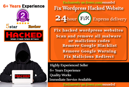 Fix WordPress Hacked Website And Clean Malware Virus