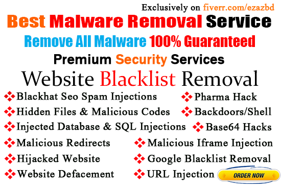 Remove Malware,Virus Or Backdoors Fast From Any WordPress Site