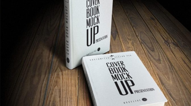 design and create awesome 3d book mockup