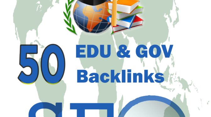 Do Manually 50 Backlinks From Edu And Gov Domain