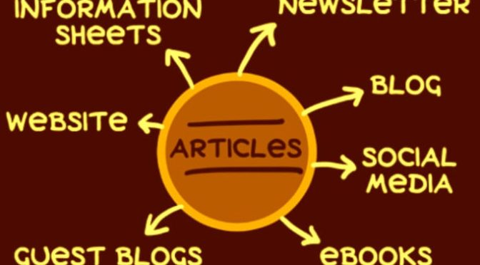 Write an original article for your blog