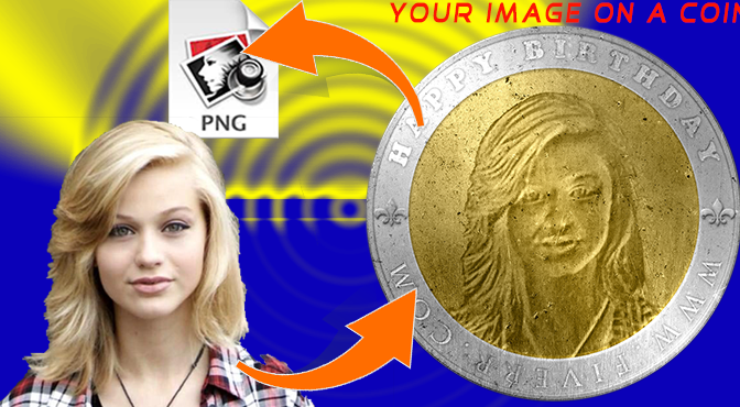 Create A Coin Portrait