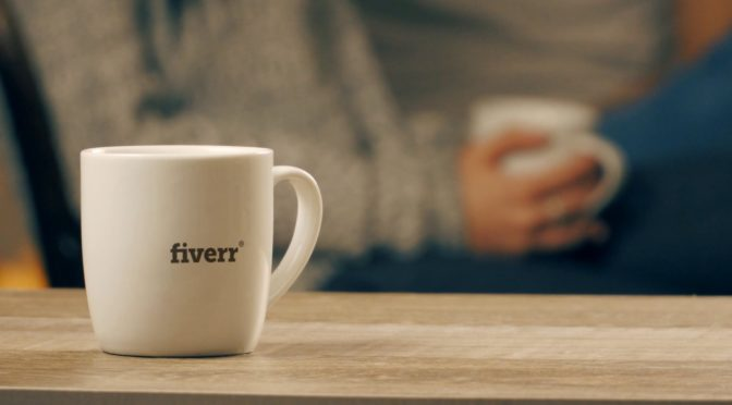 Customize A Live Action Coffee Cup Video With Your Logo