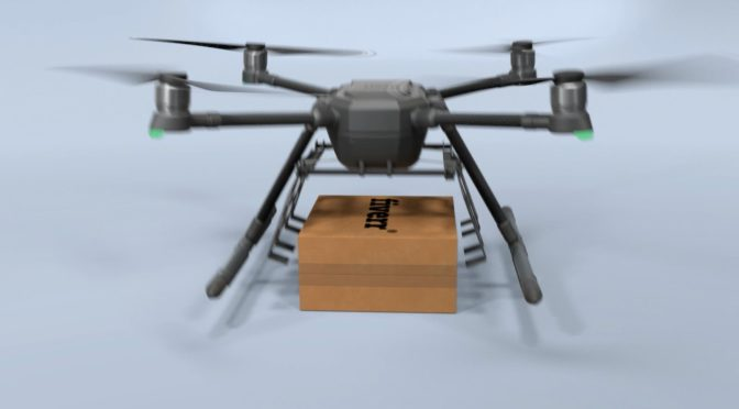 Customize This Drone Delivery Video With Your Logo