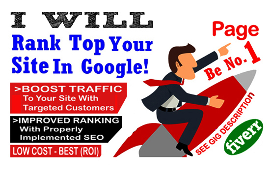 Rank Your Website On Google First Page In Top Ten