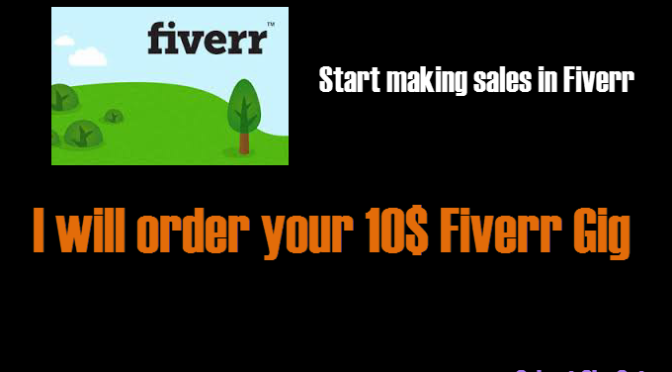 Order your 10 usd fiverr gig and give you feedback