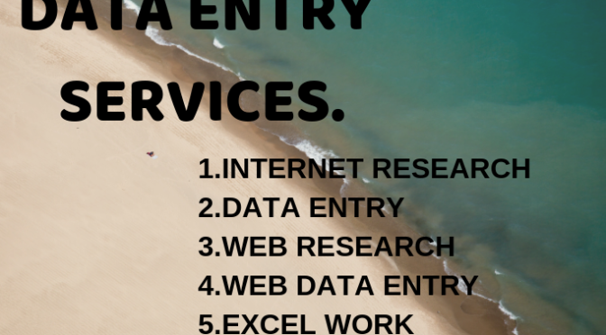 Do Best Excel And Web Data Entry