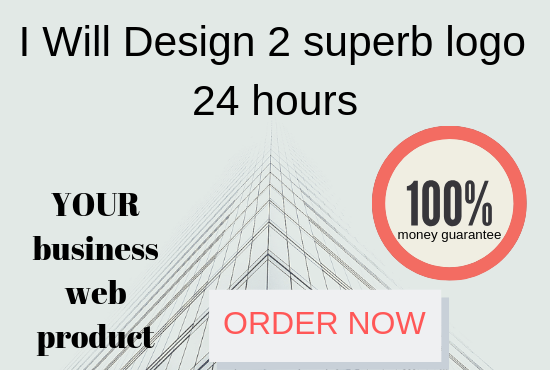 Design 2 superb logo 24 hours
