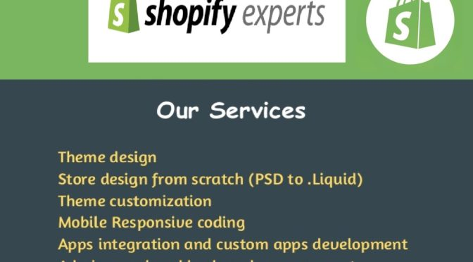 Be Your Shopify Expert Developer