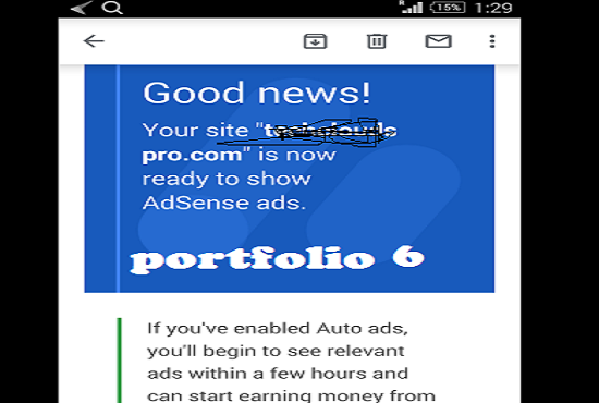Design Adsense Niche Website