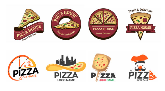 Design Creative Pizza Logo