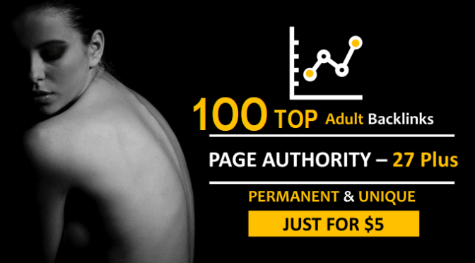 Adults Backlinks Traffic Site Highest