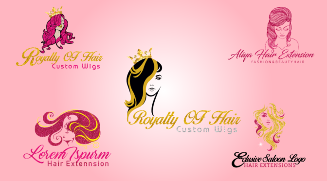 Create Logo For Hair Salon, Beauty Hair Saloon