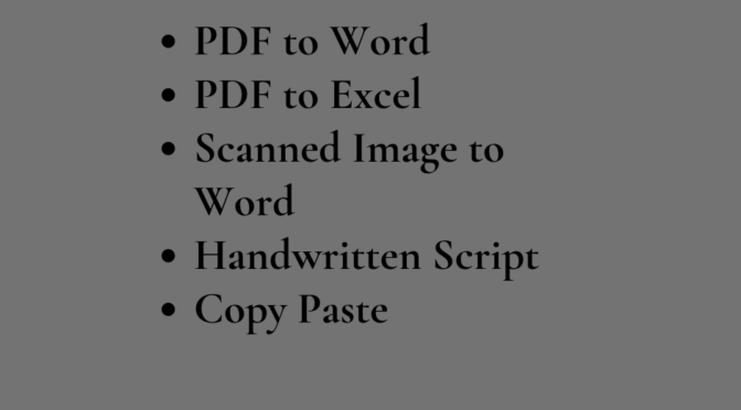 provide flawless copy typing service