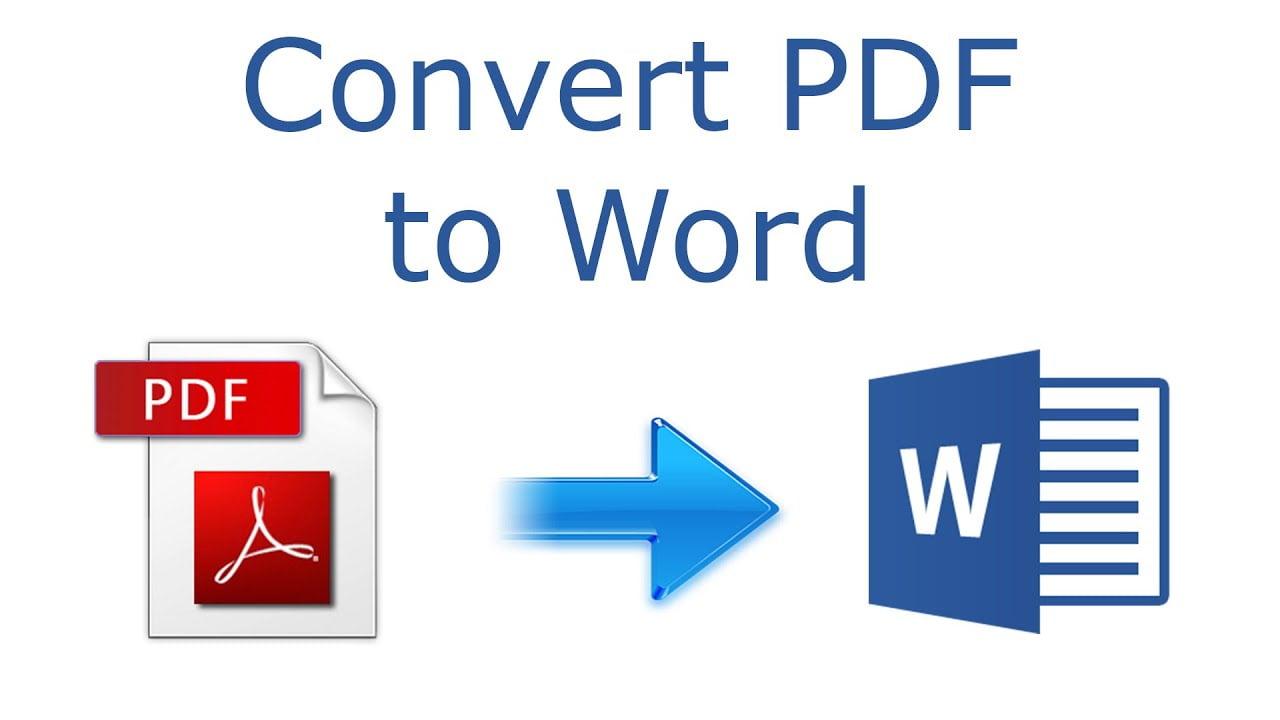 Convert PDF to Word, FiverrBox