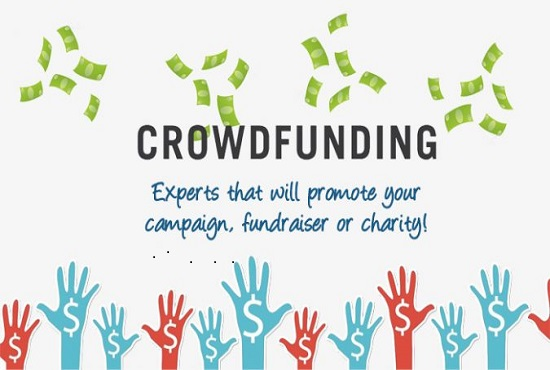 Create and promote your crowdfunding campaign, FiverrBox