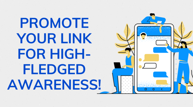 Promote and share your link to 50million internet users