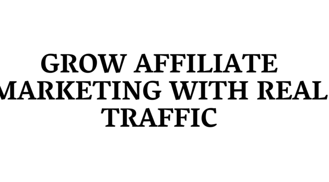 Drive traffic for affiliate link, clickbank promotion