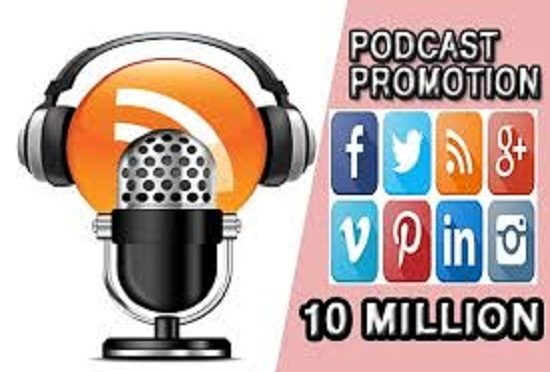 Promote and advertise your podcast by targeting real audienc