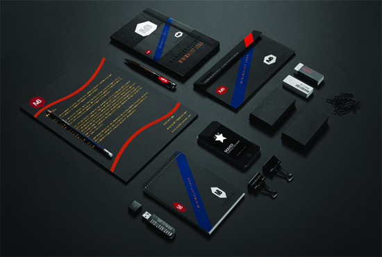Design awesome branding stationary for your business