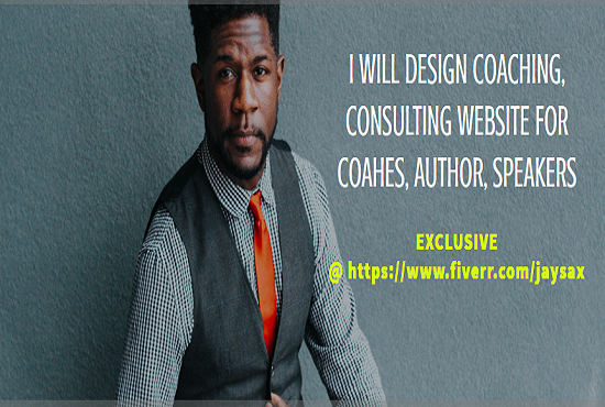 Coaching, consulting website for coaches, authors, speakers