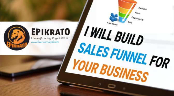 Design clickfunnels sales funnels, lead generation funnel,affiliate sales funnel