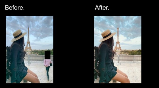 Photoshop design with background removal