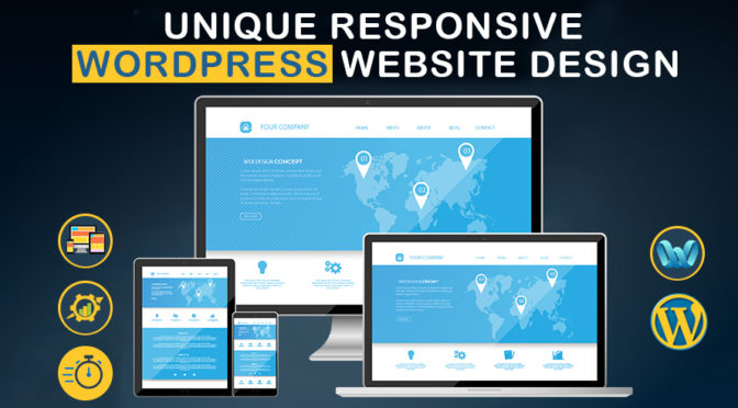Create unique professional and responsive website