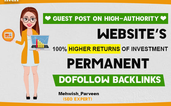 Write and publish guest post with high da/ pa tf/cf sites
