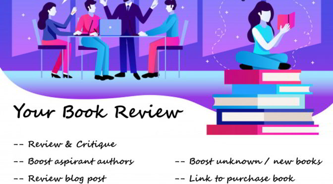Read and review your book and compose an unbiased critique