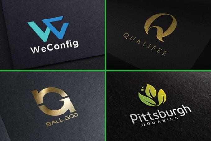 Professional Brand Identity Logo Design, FiverrBox