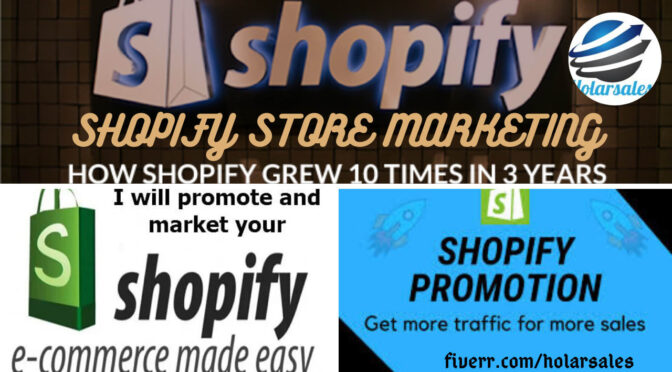 I will do effective shopify marketing ,shopify promotion to boost sales