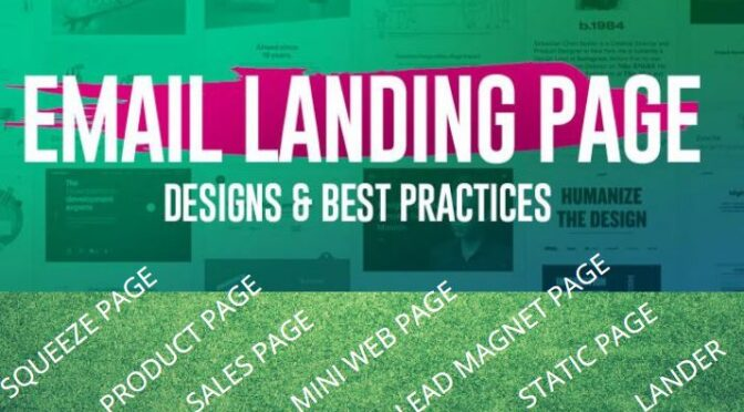 Design a responsive landing page and wordpress landing page