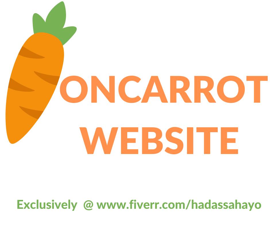 design oncarrot real estate,investors,realtor website with IDX integration, FiverrBox
