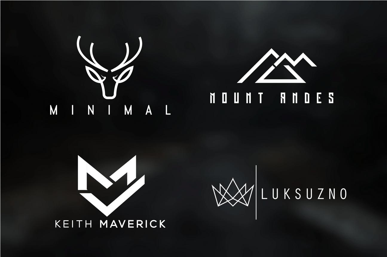 I can design modern minimalist logo design for business, FiverrBox
