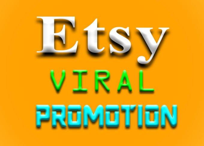 Do antonishing etsy shop promotion to get etsy traffic promotion, FiverrBox