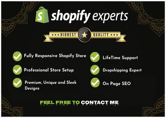 I will build a high converting shopify dropshipping store, FiverrBox
